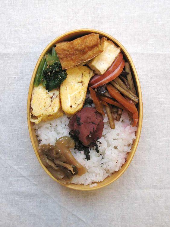16年09月27日 卵焼き&焼き厚揚げべんとう / Japanese Omelette & Atuage Bento