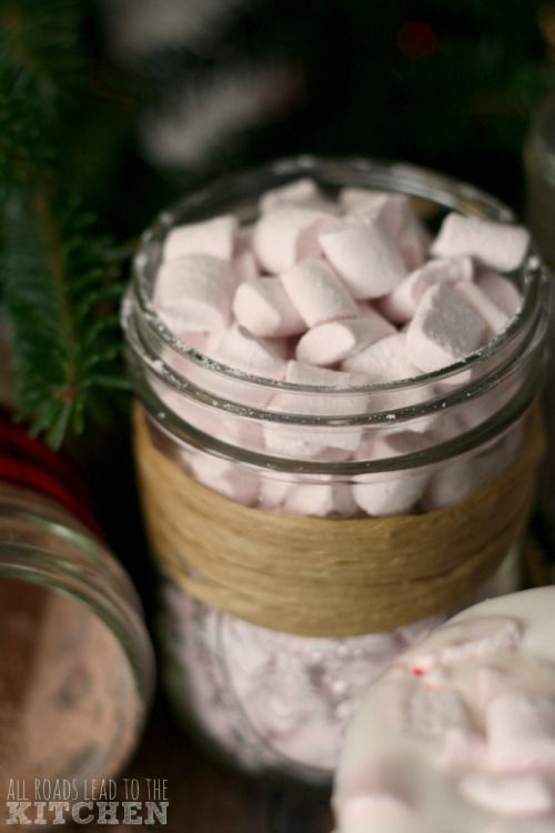 Homemade Peppermint Mini Marshmallows Really nice recipes. Every  Mein Blog: Alles rund um die Themen Genuss & Geschmack  Kochen Backen Braten Vorspeisen Hauptgerichte und Desserts