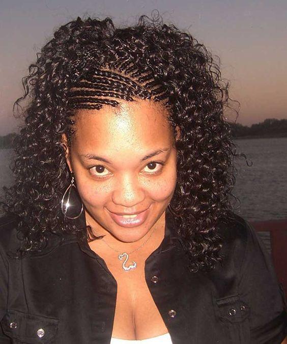 Pleasant Cornrow African Hair Braiding And African Hair On Pinterest Short Hairstyles For Black Women Fulllsitofus