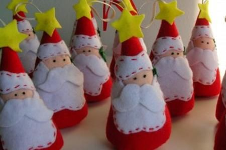 Come Realizzare Il Babbo Natale In Pannolenci Tutorial Christmas Pinterest And