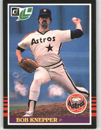1985 Leaf / Donruss #61 Bob Knepper - Houston Astros (Baseball Cards) by Leaf /Donruss. $0.88. 1985 Leaf / Donruss #61 Bob Knepper - Houston Astros (Baseball Cards)