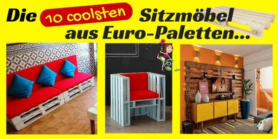 Die 10 coolsten Sitzmöbel aus Euro-Paletten