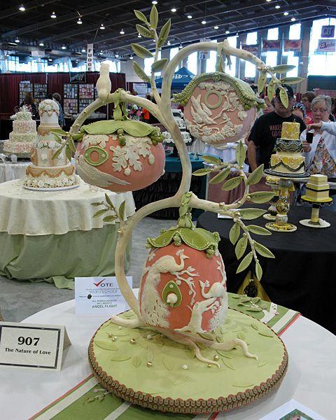 Cake Art Exhibit : 2011 Exhibition, Oklahoma State Sugar Art Show (OSSAS ...