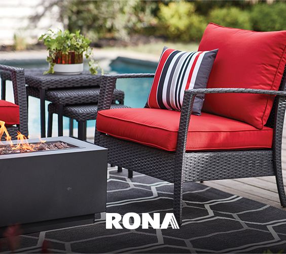 Patio Furniture, Red Outdoor Furniture