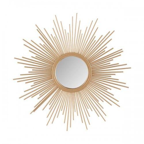 Gold Bursting Star Sun Wall Mirror Gold Sunburst Mirror Sunburst Mirror Mirror Wall Decor
