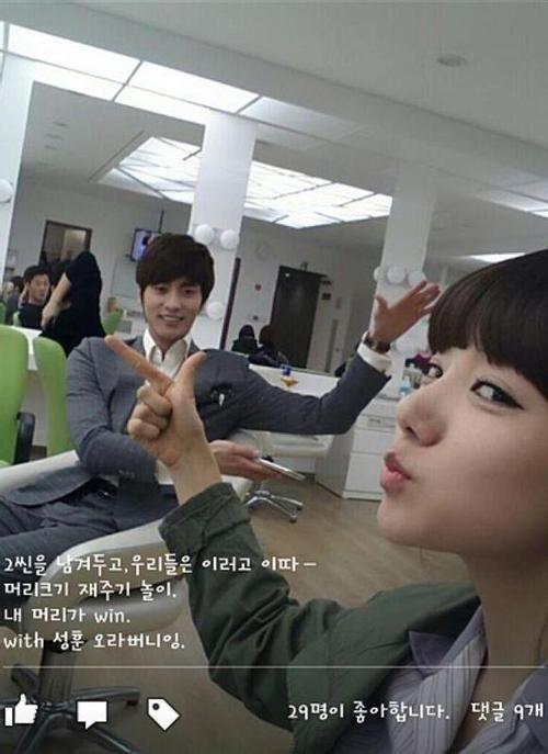 Sung Hoon  @ Family Ties Film Location Sung Hoon @bbangsh83  @TMSH83 ==> FACEBOOK : www.facebook.com/SungHoonBang.FanPage: