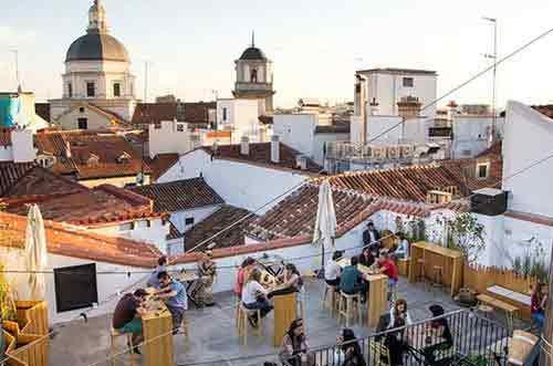 The Hat Una Azotea Muy Chula Terrazas Madrid Madrid Turismo Viaje A Europa
