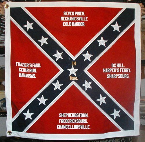 confederate flag in civil war