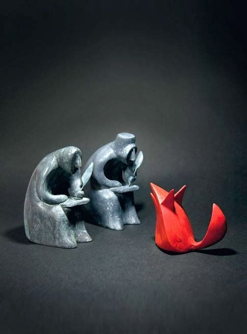 3D illustration by Shaun Tan for Grimm's Tales