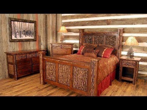 Como Fazer A Decoracao De Um Quarto Rustico Para Sitio E Fazenda Master Bedroom Furniture Cabin Interiors Furniture Design