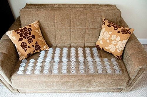 Couch Guard Furniture Protector Keep Dogs Pets Safely Off Furniture Quantity 4 Clear Made In Usa Furniture Protectors Furniture Couch