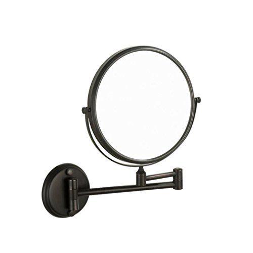 Laalaa Bathroom Mirror Black Vintage