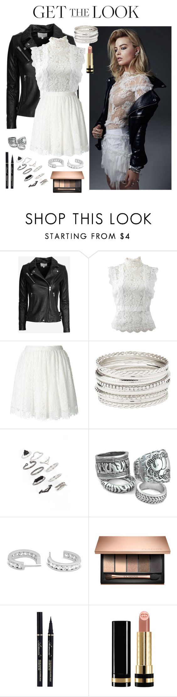 """Get the look - contest"" by rowan-na-daw ❤ liked on Polyvore featuring IRO, Oscar de la Renta, Charlotte Russe, Topshop, Gucci, GetTheLook and Australian"