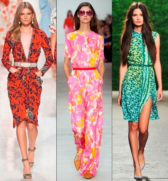 The Spring 2014 Trend of Floral Prints  #fashiontrends #floralprints