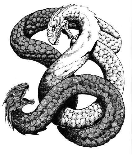 Rainbow Serpent - Mythical Creatures List
