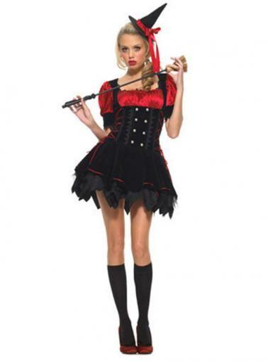 Piquant Mini Dress Witch Costume