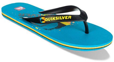 Amphibian Slide, Tongs Homme, Multicolore (Blue Danube/Tarmac), 39 EUQuiksilver