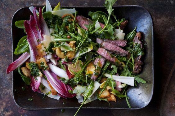 Ottolenghis Rezept: Bratensalat mit Biss - SPIEGEL ONLINE