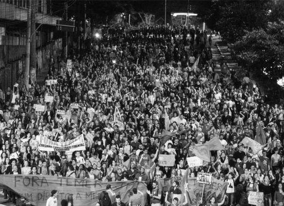 Fora Temer 04/09/2016 Av. Paulista. Foto: Tiago Macambira