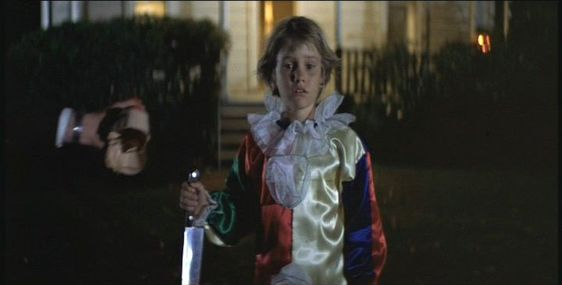Michael Myers as a child in the original Halloween