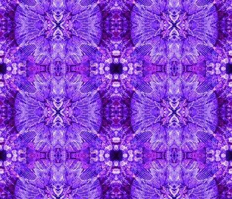 Glows in the Dark - purple fabric by susaninparis on Spoonflower - custom fabric