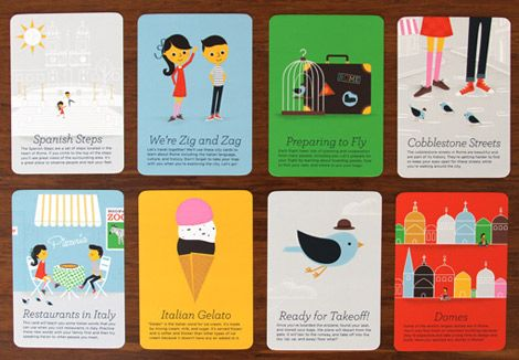 ZigZag City Guides Rome - Cards