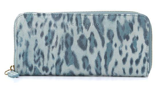 wardow.com -#liebeskind, Vintage Leo Bags Lesley Geldbörse Damen Leder light blue 21 cm