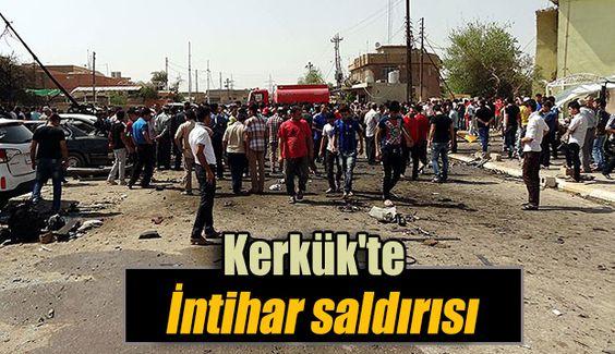Irak'ın Kerkük kentinde düzenlenen bombalı intihar saldırısında, ilk belirlemelere göre 4 kişinin hayatını kaybettiği, 15 kişinin yaralandığı bildirildi.