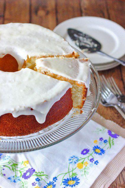 Louisiana Crunch Cake - Brown Sugar Mama