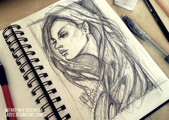 Sketchbook No.1 Character Design, Drawing, Illustration, Sketchbook |