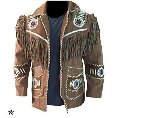 Men's Western Real Suede Leather Jacket