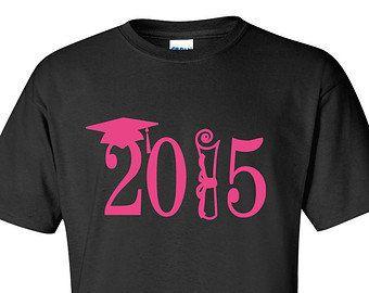 2015 Graduation Shirt by ShirtsbySmith on Etsy