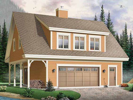 2 story garage plans google search home ideas for Cool garage apartment plans
