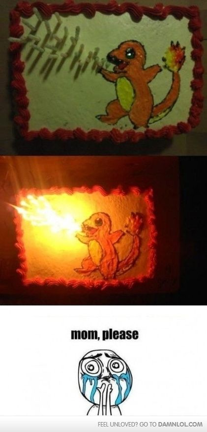 Charizard cake when-its-time-to-party-we-will-party-hard