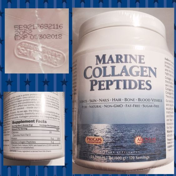 Procaps Andrew Lessman Marine Collagen Peptides 120 Servings Retail $89 90 New | eBay