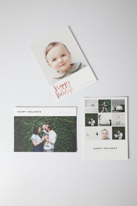 The 2014 Artifact Uprising Holiday Card Collection   Premium Quality 100% recycled photo cards can be made online or from your iPhone.
