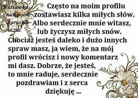 Pin By Wanda Swoboda On Podziekowania Cytaty Uczucia Mysli