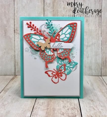Stampin' Up! Butterflies Abound Sneak Peek for the Happy Inkin' Thursday Blog Hop | Stamps – n - Lingers