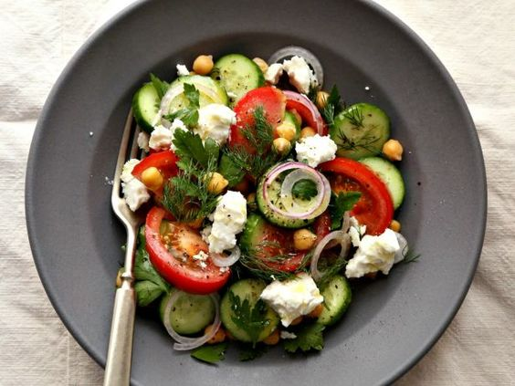 Salad of the Month: Greek Chickpea