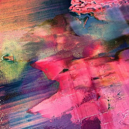 playing with colour in Jessica Zoob's studio