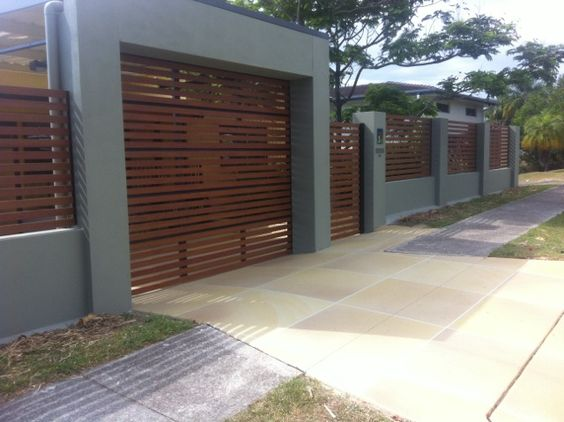 Carport designs with roller door google search house for Carport fence ideas