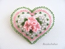 flowers and dots pin
