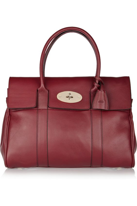 BERRY BAGS 2012Mulberry|Bayswater textured-leather bag - more lusciousness at http://mylusciouslife.com/a-ladylike-life/:  Postbag, Second Love Handbags, Shoes Handbags, Bayswater Texturedleather, Beautiful Handbags