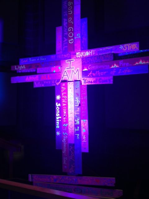 jumbled names from five oaks church in woodbury mn church stage design ideas