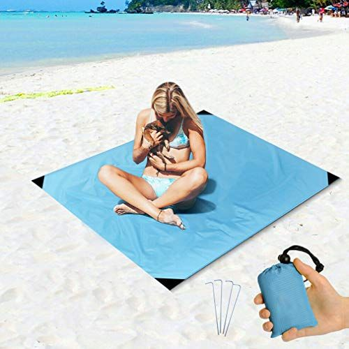 Beach Blanket Sand Proof And Waterproof Pocket Sized Picn Https Www Amazon Com Dp B07qqphcfj Waterproof Picnic Blanket Beach Blanket Outdoor Beach Blanket