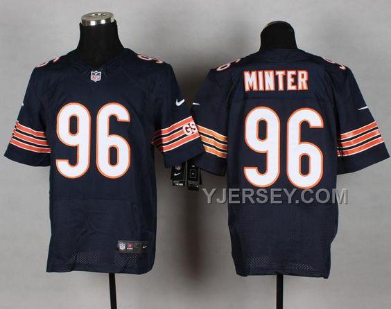 http://www.yjersey.com/nike-bears-96-minter-blue-elite-jerseys-new.html #NIKE BEARS 96 MINTER BLUE ELITE JERSEYS NEWOnly$36.00  Free Shipping!
