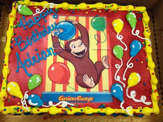 Curious George Birthday Cake   Cakery   Pinterest ...