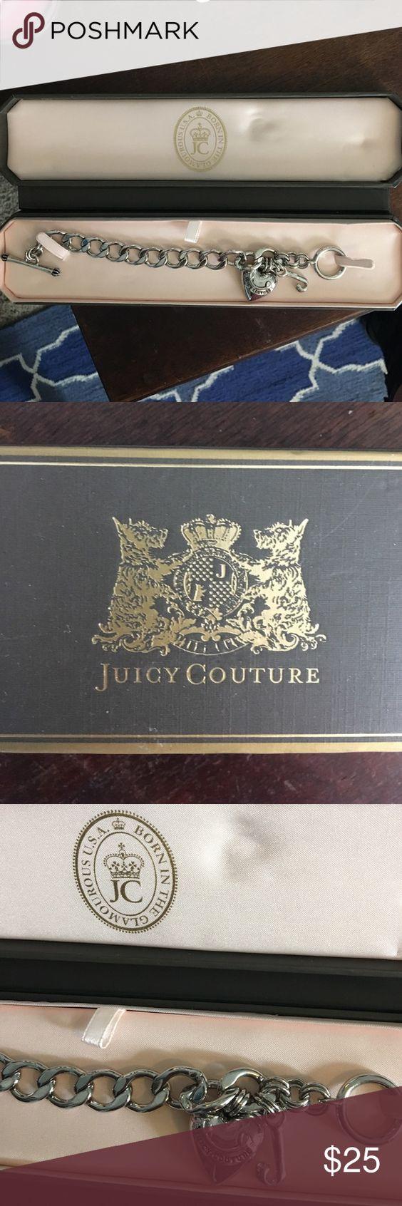 Juicy Couture Charm Bracelet Never Worn! Juicy Couture Charm Bracelet,  Color Is