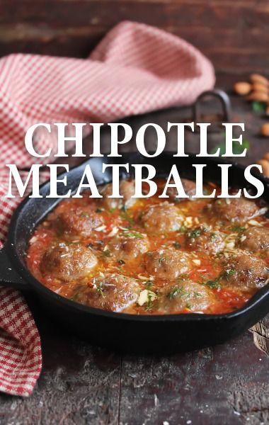 Chef Aaron Sanchez made his grandmother's Meatballs in Chipotle Sauce Recipe in memory of his grandmother for Dia de los Muertos. http://www.recapo.com/today-show/today-show-recipes/today-aaron-sanchez-meatballs-chipotle-sauce-recipe-street-corn/