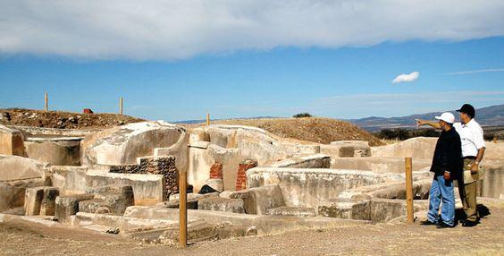 No he ido. Zona arqueológica de Altavista, Zacatecas